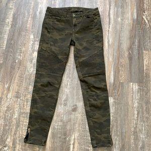 Zara skinny army pants